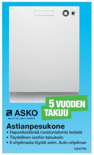 Astianpesukoneen Asennus Vuokra-Asuntoon